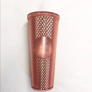 Brand New Limited Edition Rose Gold Starbucks Cup